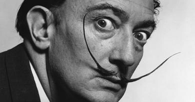 Salvador Dalí's Mustache